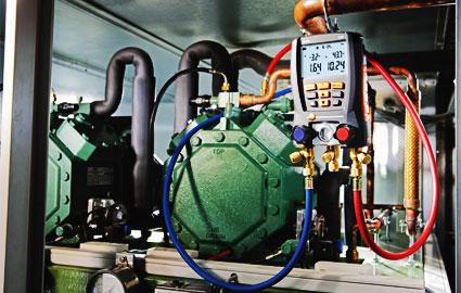 Mantención de equipos de climatización