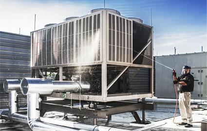 Mantenimiento de equipos de climatización industrial